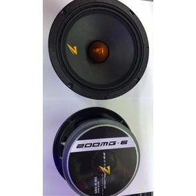 Par Auto Falante Zetta Audio 6 Pol 200rms (400rms Par)