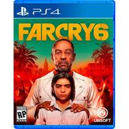 Far Cry 6 Ps4 Sony Fisico Sellado Original Ade Ramos