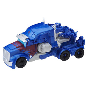 Boneco Transformers Hasbro Turbo Changer - Optimus Prime
