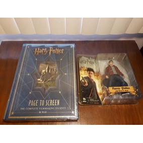 Harry Potter Boneco Neca + Livro Page To Screen Bob Maccabe