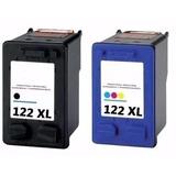 Kit Cartuchos Genericos Hp 122xl Negro Y Color Nuevos