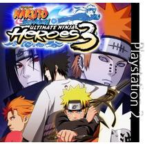 Naruto Hero 3 Playstation 2 Frete Grátis