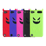 5 X Premium Diablo Gel Fundas Silicona Para Apple Ipod Touch