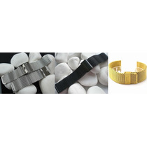 Pulseira De Relógio Mesh - Luxo - Black Bracelet