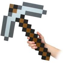 Think Geek Minecraft Pico Espuma Arma La Figura De Acción D