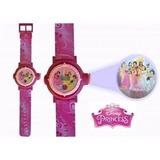 Reloj Proyector De Niñas Dora Princesas Hello Kiti