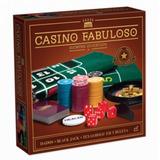 Juego Casino Fabuloso Cartas Para Póker, Dados Y Ruleta