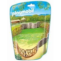 Retromex Playmobil 6656 Jaula D Zoologico Animal Rejas