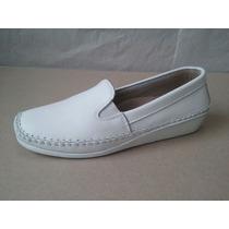 Sapato Sapatilha Feminina Branca Enfermagem