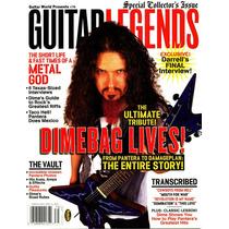 Guitar Legends - Dimebag Darrell - Tablatura Partitura Libro