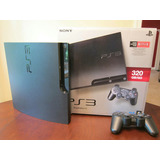 Playstation 3 160gb - Ps3 - Control - 2 Juegos - 3d
