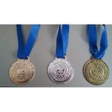100 Medalha Honra Ao Mérito Rema 34mm Ouro / Prata / Bronze