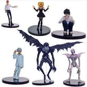 Conjunto 6 Personagens Death Note Anime Envio Imediato