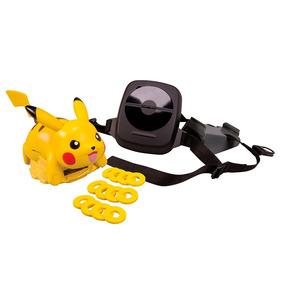 Figura Pokémon Lança Discos - Xy - Pikachu - Tomy