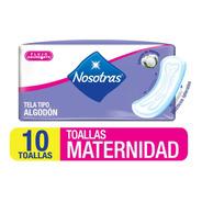 Toallas Higiénicas Nosotras Matern - Unidad a $159