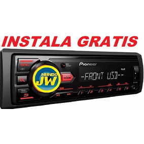 Stereo Pioneer Mvh 085 Mp3 Usb Iphone Android Am Fm Mundojw