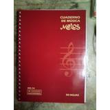Cuaderno Música Pentagramado Melos 50 Hojas (+ Envío C A B A