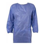 Camisolin Descartable Azul 30gr (x10unidades) Puño Elastico