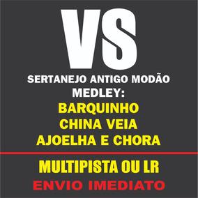 Vs Sertanejo Antigo Modão Medley Multipista Ou Lr