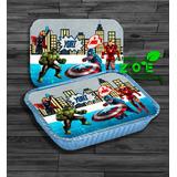 50 Marmitinhas Personalizadas Vingadores 250g Qualquer Tema