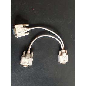 Cable Vga Doble Espliter 4