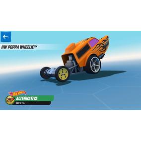 Miniatura Hot Wheels Hw Poppa Wheelie Do Jogo P/ Smartphones