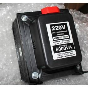 Auto Transformador De Voltagem 6000va 127/220 Ou 220/110 Ar