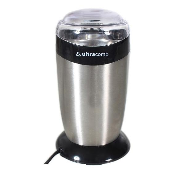 Molinillo De Cafe Ultracomb Mo8100 Acero Inoxidable 120w Cuo