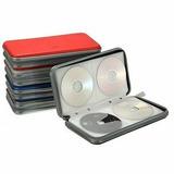 Porta Estojo Cd Dvd P/ 80 Unidades Case Plástico Resistente