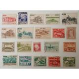 Colección De 20 Estampillas Peruanas Antiguas No Repetidas