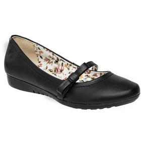 Zapato Escolar Niña Dama Gilardi 4177 Negro 22-26 Envio Inm.