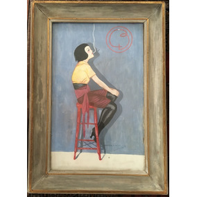Juan Carlo Alonso (1886-1945) Pintor Argentino - Acuarela Bu