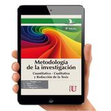 Metodología De La Investigación Cuantitativa Y Cualitativa