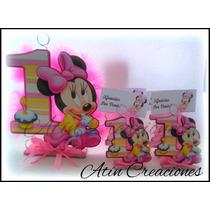 20 Souvenirs + Maqueta + Central Mickey Minnie Bebe Baby