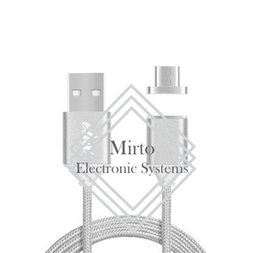 Cable Usb Magnetico V8 Micro Usb Android Y Iphone 5, 6, 7, 8