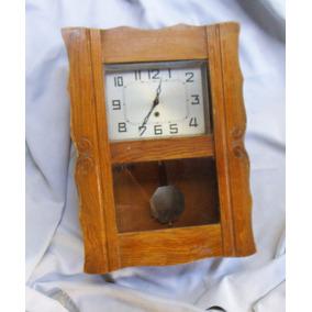 Antiguo Reloj Péndulo De Pared Envío Tx