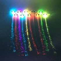 Zicome Light-up De Fibra Óptica Led De Luces De Pelo - Multi