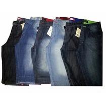Kit Atacado/revenda 5 Bermuda Jeans Masculina 100% Qualidade