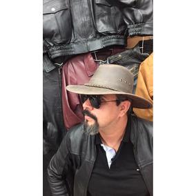 Sombrero De Piel Estilo Indiana Jones