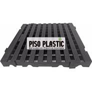 Palete Piso Estrado Em Plástico Modular 40x40x4,5