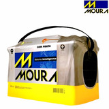 Bateria 12x75 Amp Moura M-24kd - Libre De Mantenimiento