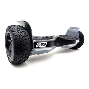 Skate Elétrico Hoverboard Dropboards Hummer - Cinza