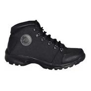 Botas Baxter Zapatos Hombre Cuero 100% Y Lona Original
