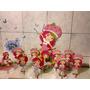Moranguinho - 10 Display Mesa Decoração Festa Infantil
