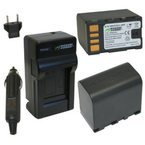 Wasabi Power Battery And Charger Kit For Jvc Bn-vf823, Bn-vf