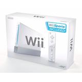 Nintendo Wii | Caja Control & Nunchuk 100% Original + Juego