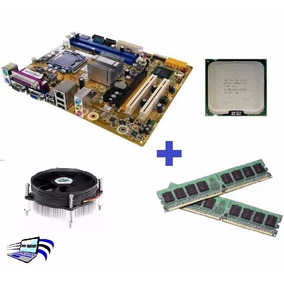 Kit Placa Mãe Asus Ddr3 775 Ipm41-d3+core 2 Duo E8400+4gb!