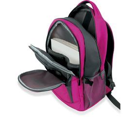 Mochila Feminina Para Notebook 15,6 School Rosa