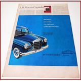 Dante42 Publicidad Antigua Retro Auto Mercedes Benz 1959