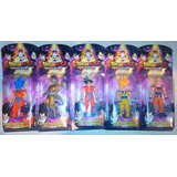 Muñecos Dragon Ball Z Super Articulados C Luz Resurreccion F